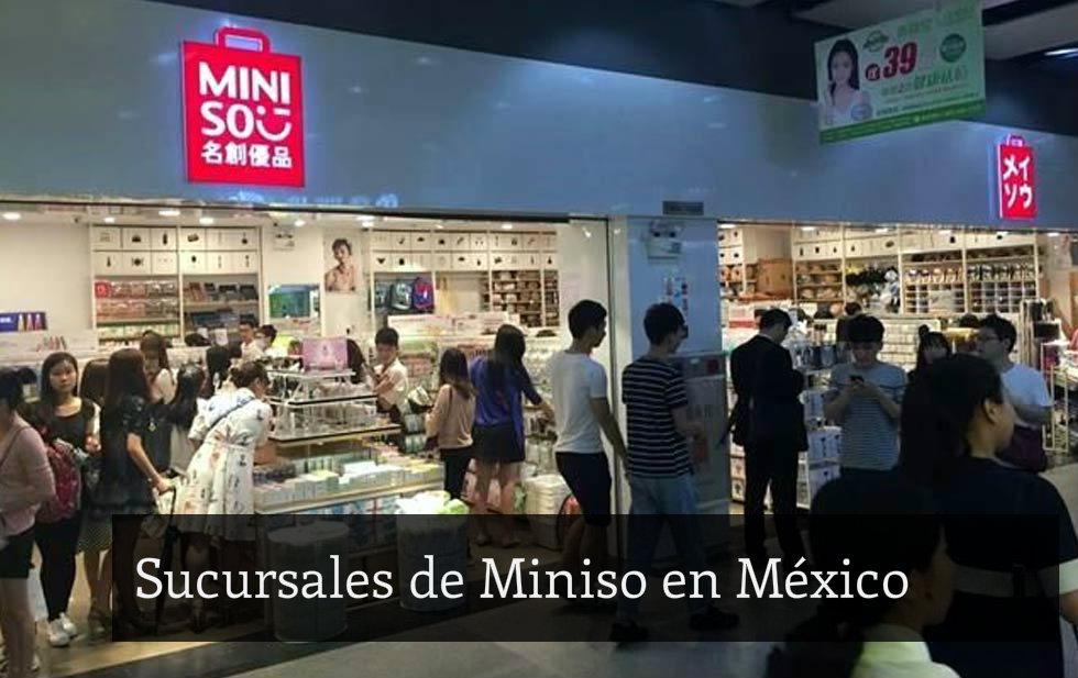 d02d2559e8 Miniso en México - Sucursales