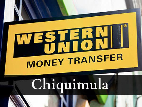Western union Chiquimula