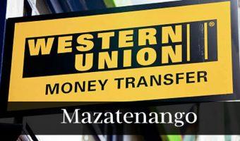 Western union Mazatenango