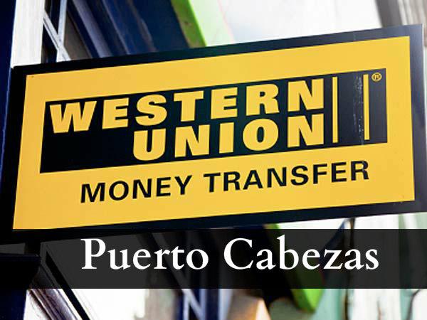 Western union Puerto Cabezas