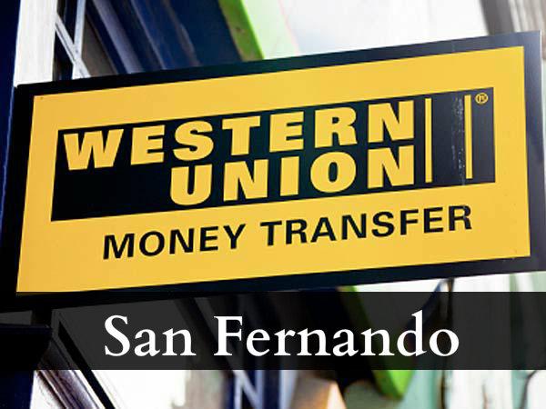 Western union San Fernando
