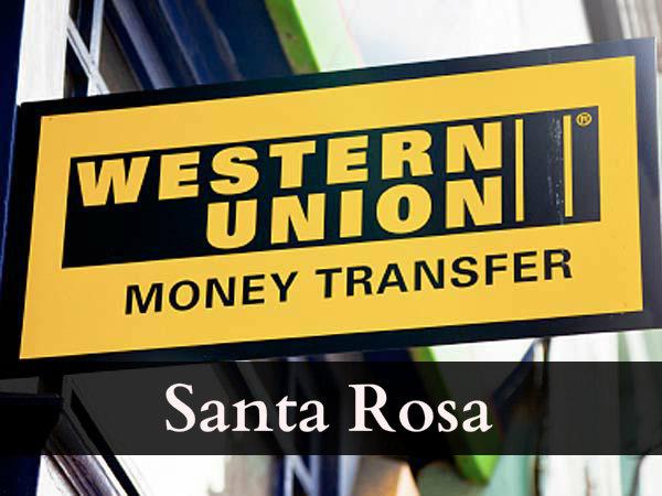 Western union Santa Rosa