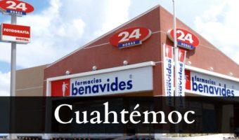 Farmacias benavides Cuahtémoc