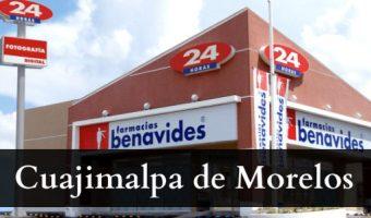 Farmacias benavides Cuajimalpa de Morelos
