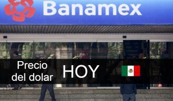 Banamex precio dolar hoy