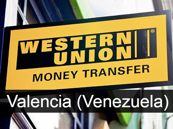Western union Valencia (Venezuela)