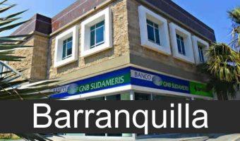 banco gnb sudameris en Barranquilla