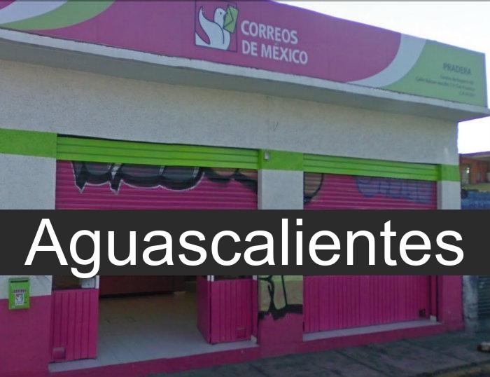 correos de mexico en Aguascalientes
