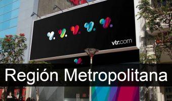 vtr en Región Metropolitana