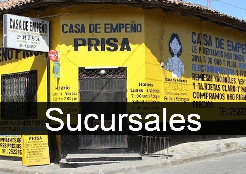 Casa de Empeño PRISA en Nicaragua