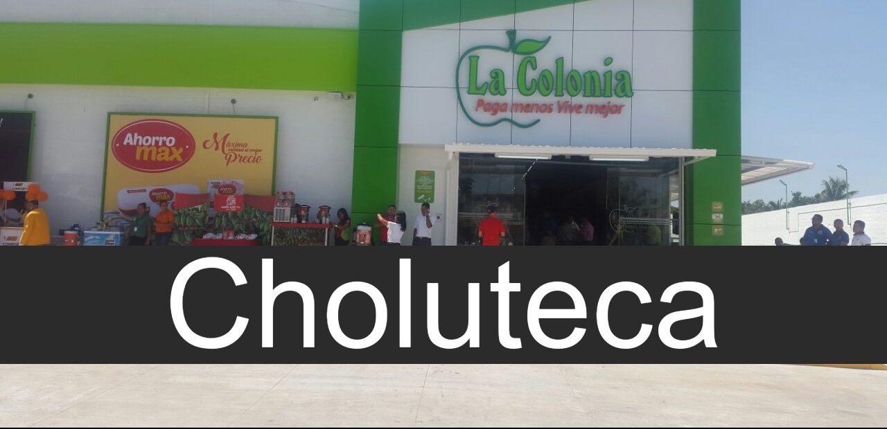 Tiendas La Colonia en Choluteca