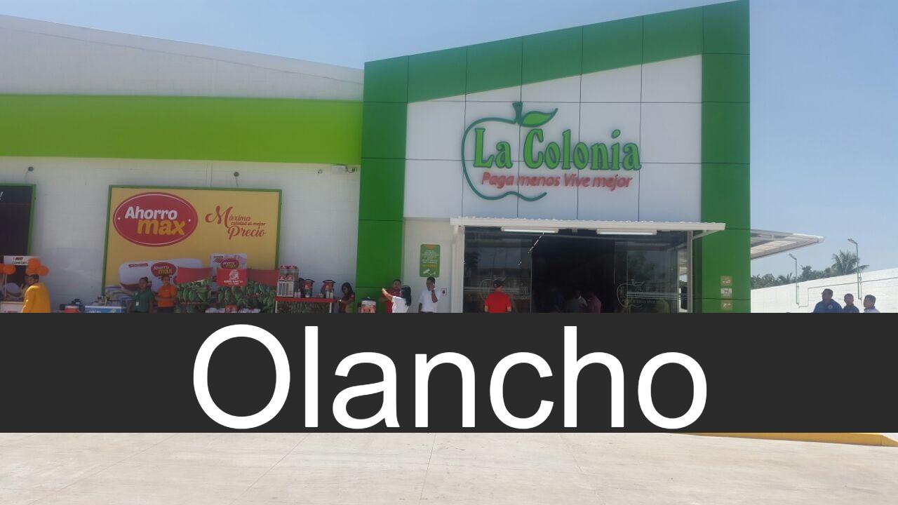 Tiendas La Colonia en Olancho