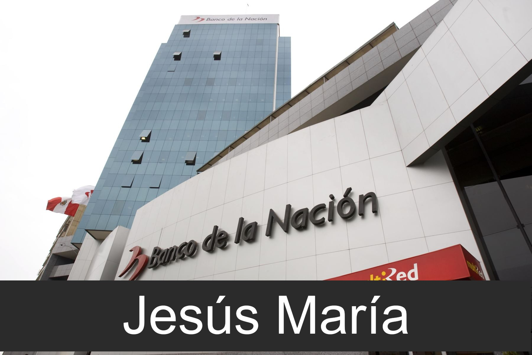 banco de la nacion en Jesús María