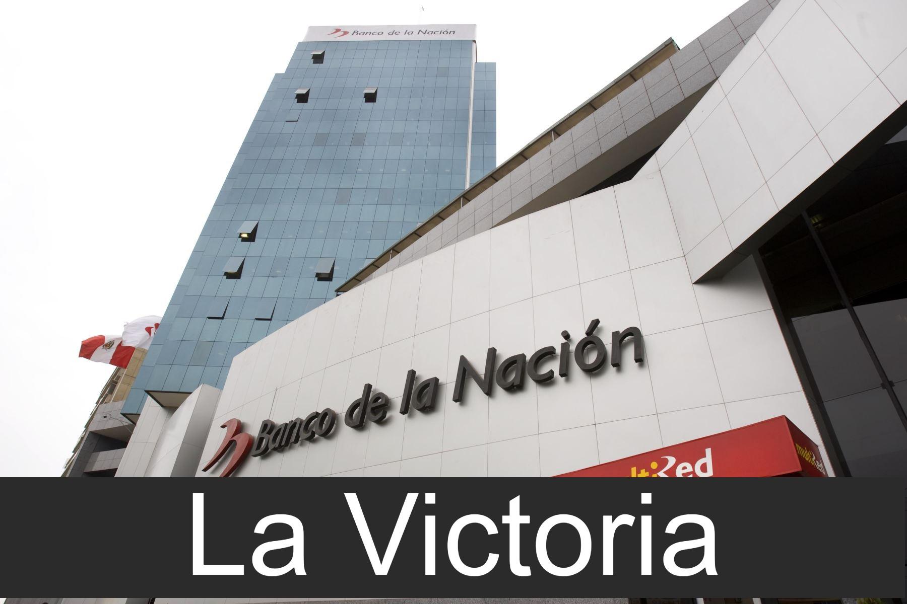banco de la nacion en La Victoria