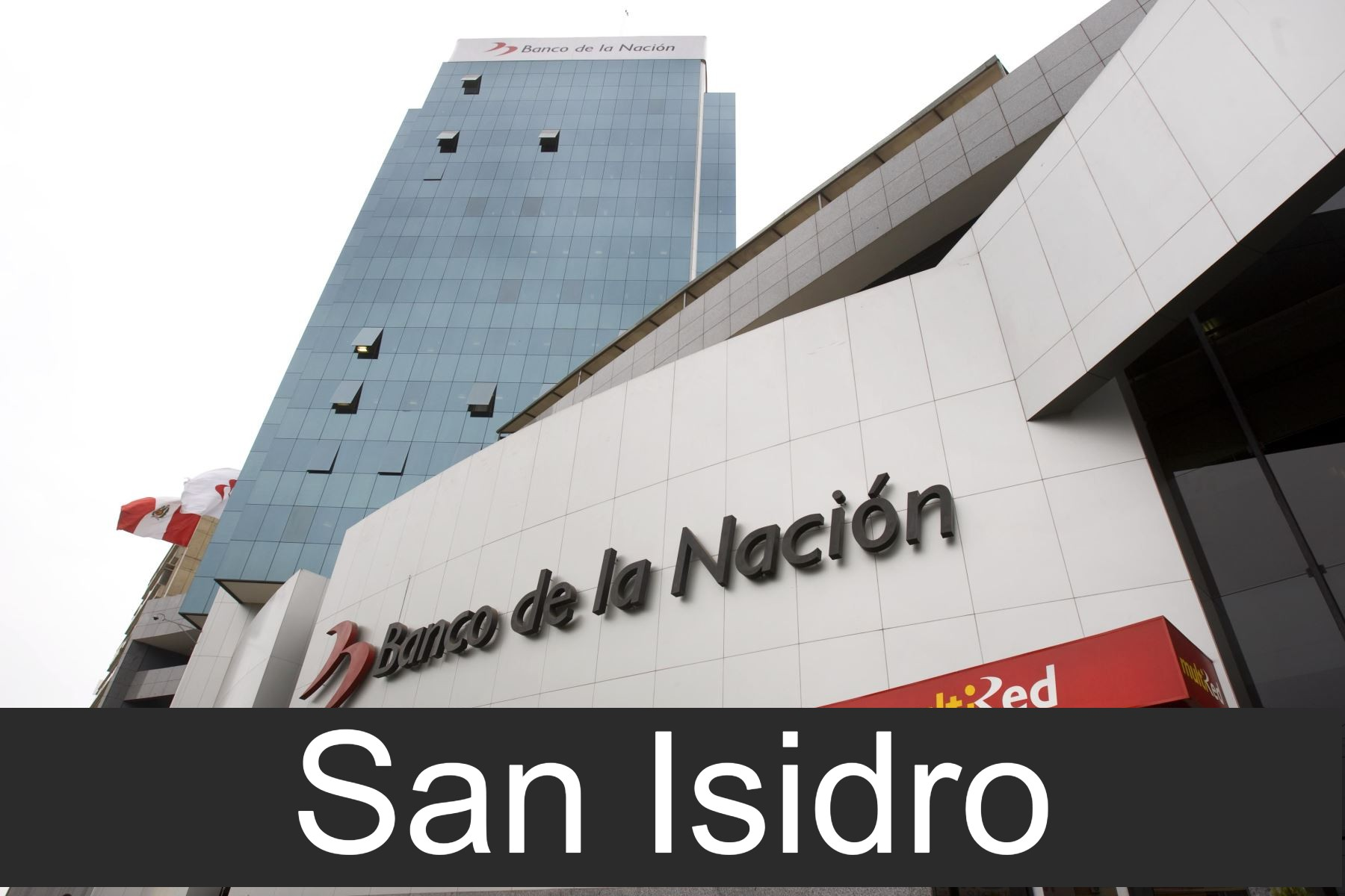 banco de la nacion en San Isidro