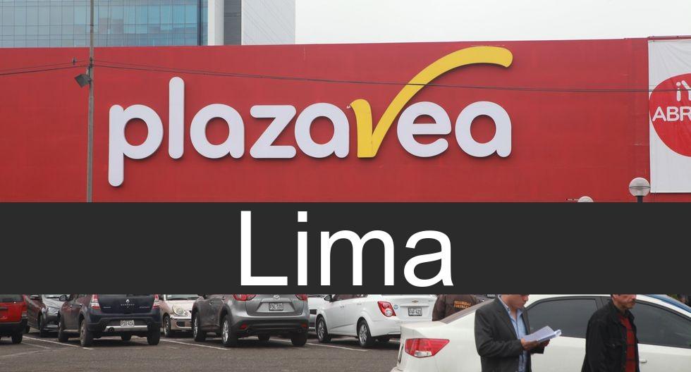 plaza vea en Lima