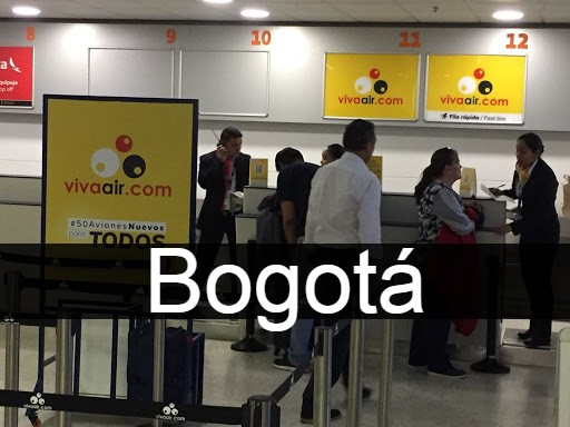 viva air en Bogotá