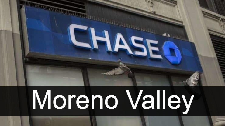 Chase Bank Moreno Valley