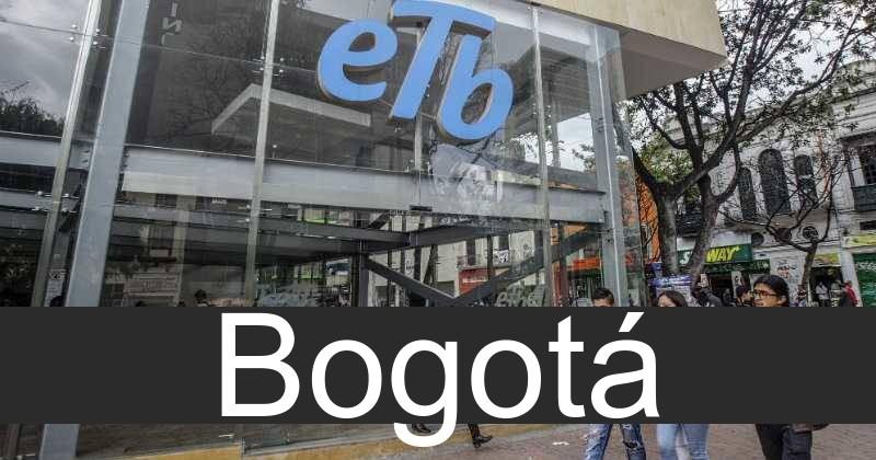 etb en Bogotá