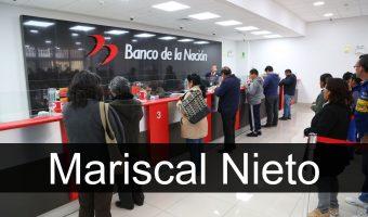 banco de la nación en Mariscal Nieto