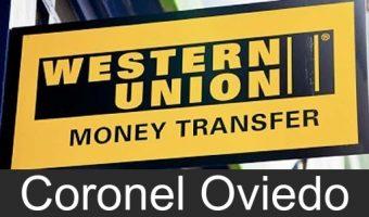 western union en Coronel Oviedo