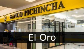 banco pichincha El Oro