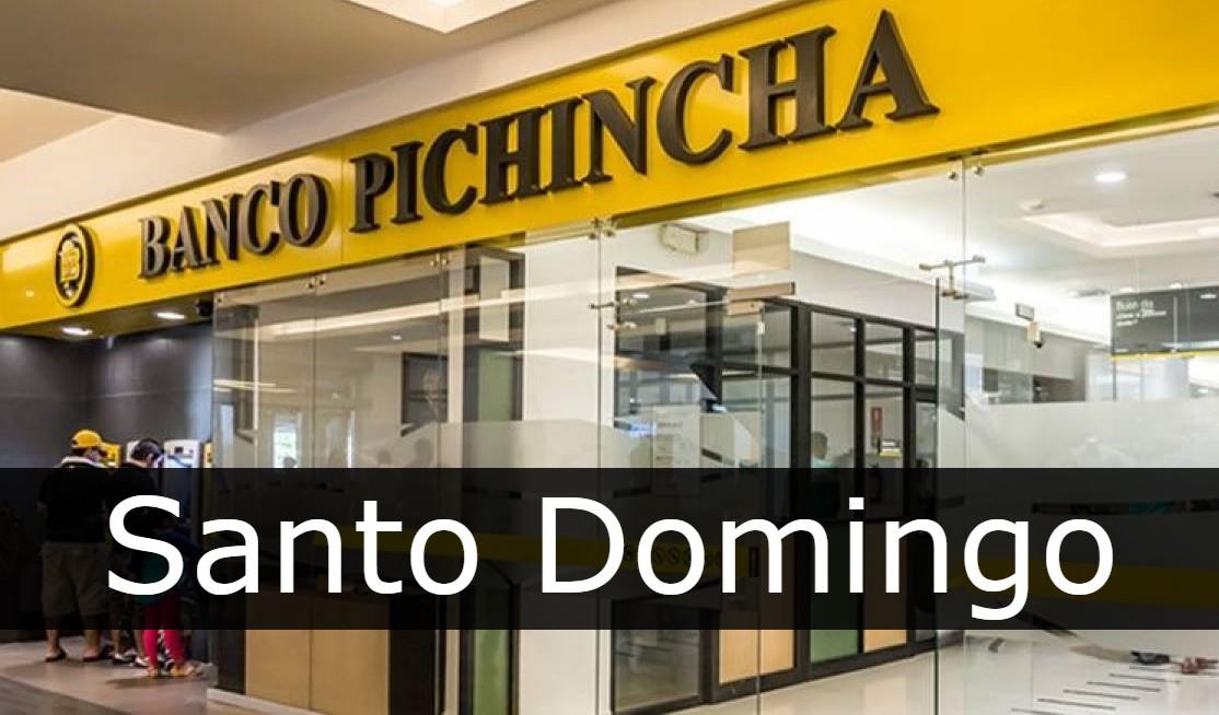 banco pichincha Santo Domingo