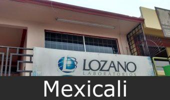 laboratorios lozano Mexicali
