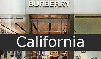 burberry California