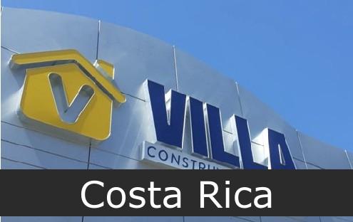 materiales villa Costa Rica