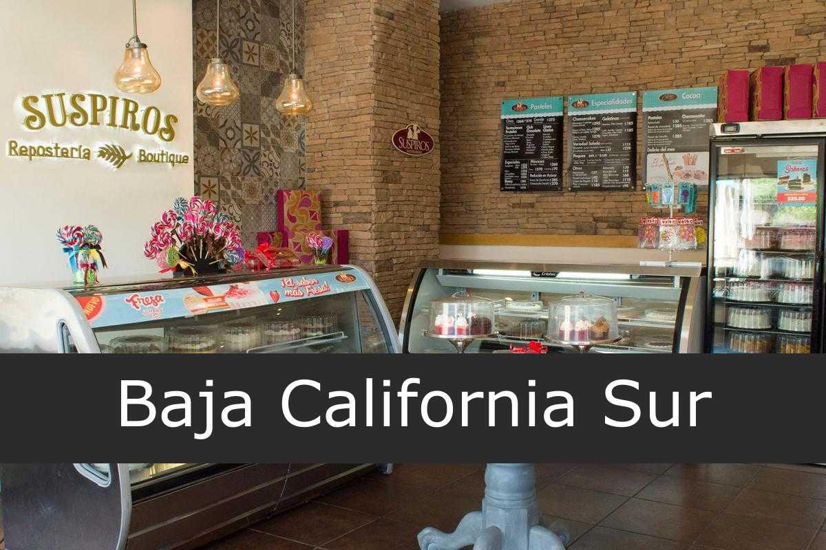 Pastelerías suspiros Baja California Sur