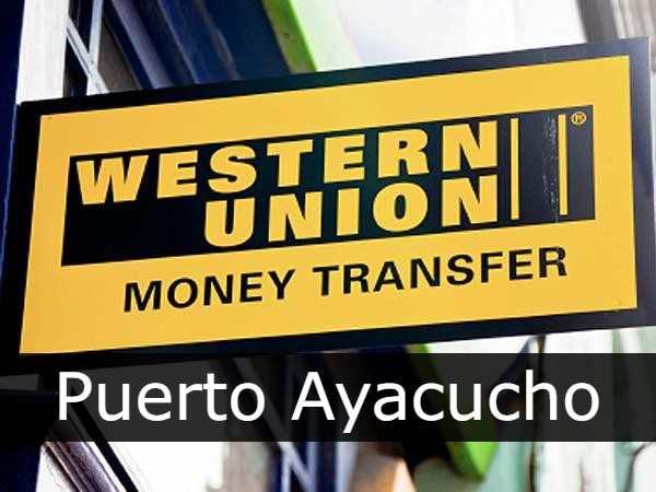 Western union Puerto Ayacucho