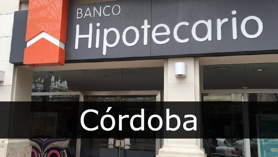 banco hipotecario Córdoba