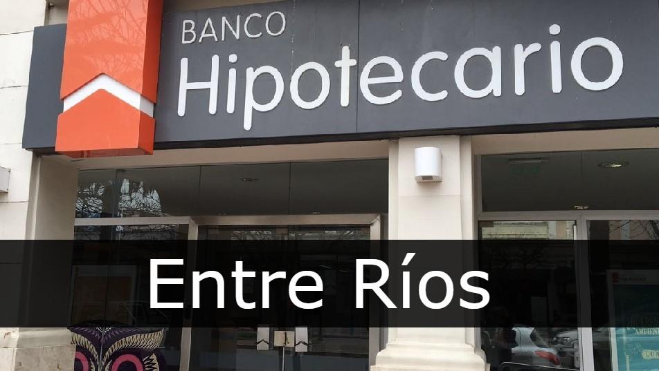 banco hipotecario Entre Ríos