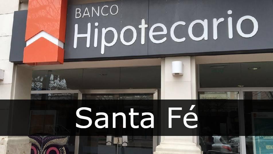 banco hipotecario Santa Fé