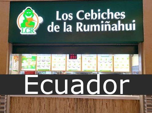 los cebiches de la Rumiñahui Ecuador