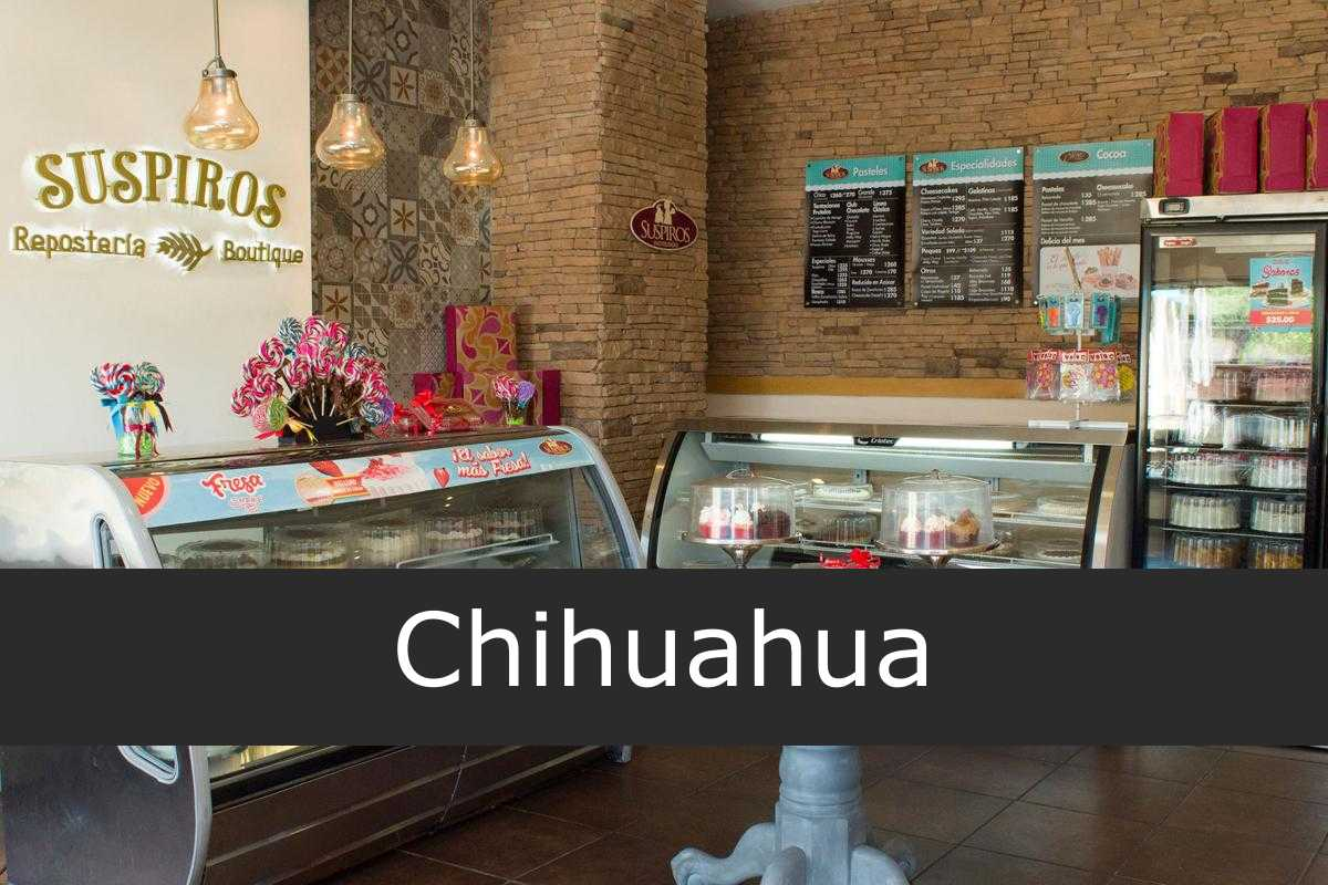 pastelería suspiros Chihuahua