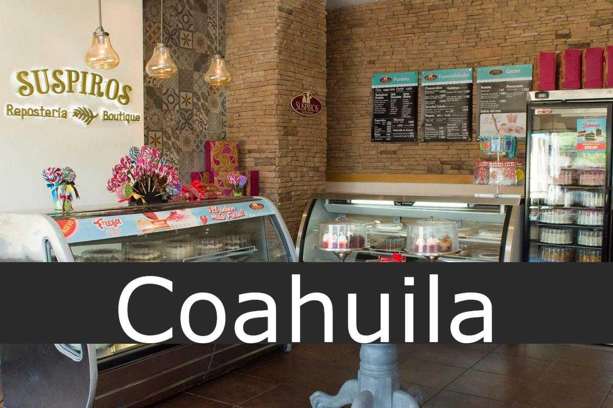 pastelerías suspiros Coahuila