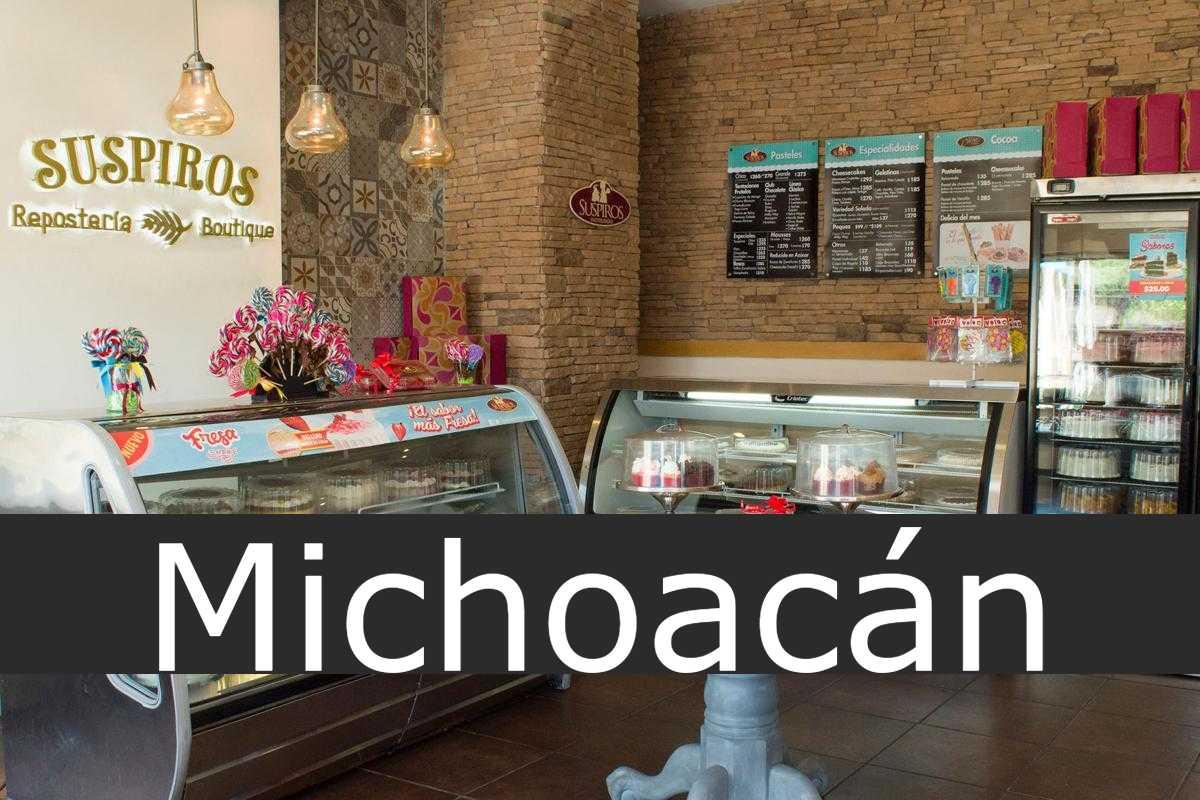 pastelerías suspiros Michoacán