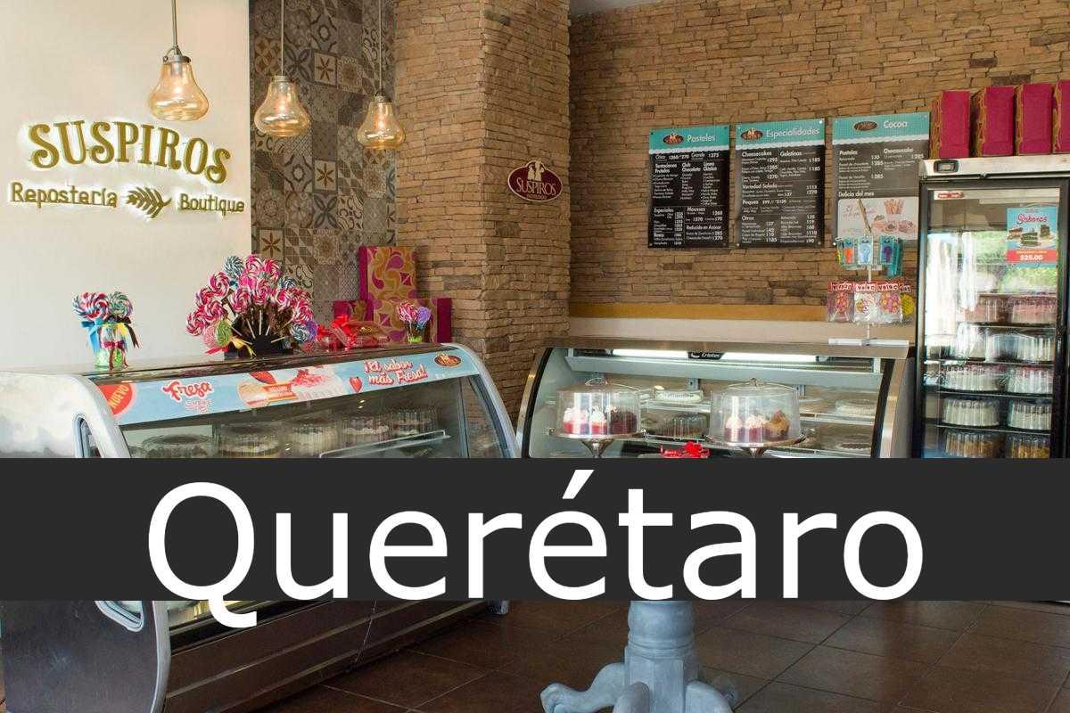 pastelerías suspiros Querétaro