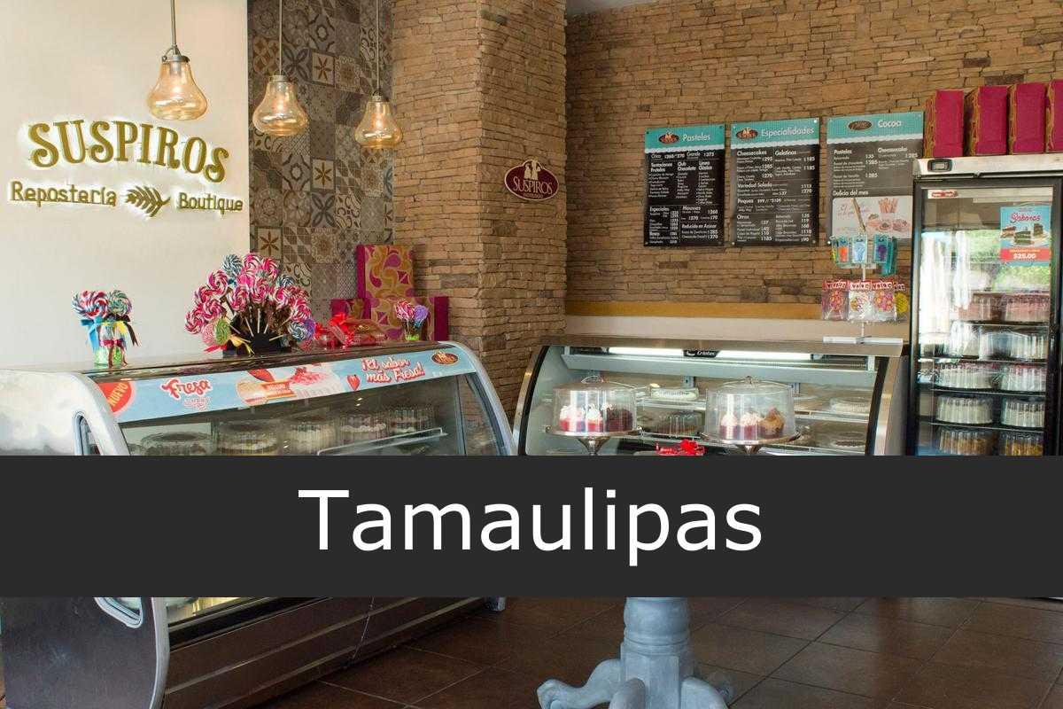 pastelerías suspiros Tamaulipas