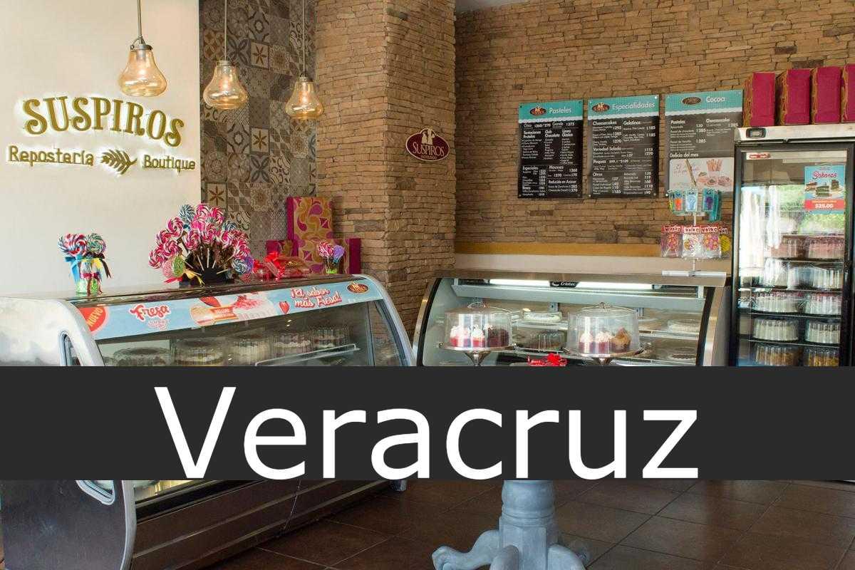 pastelerías suspiros Veracruz