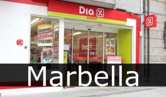 tiendas dia Marbella