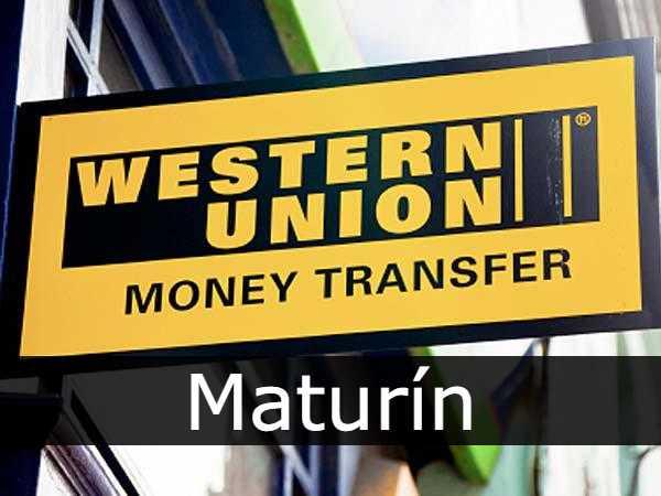 Western union Maturin