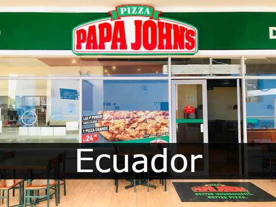 papa johns Ecuador