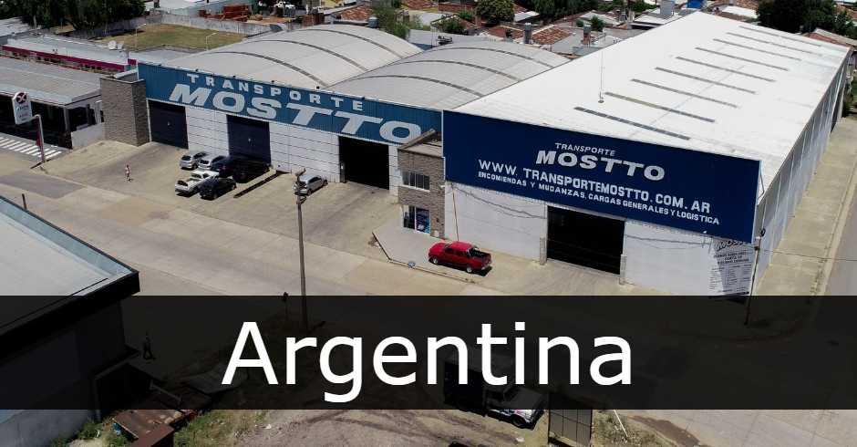 transporte mostto Argentina