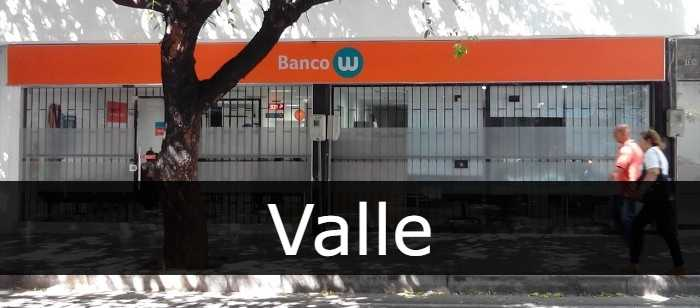 Banco W Valle