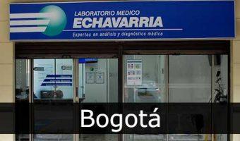 Laboratorio Echavarria Bogotá