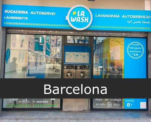 Lavandería La Wash Barcelona