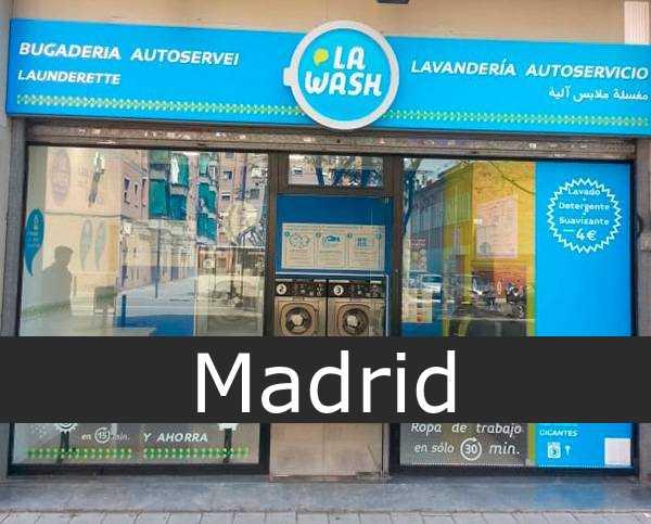 Lavandería La Wash Madrid